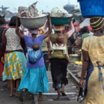 STREET HAWKERS AND SELLERS AT KOTOBABI PLEADS WITH THE GOVERNMENT TO PROVIDE THEM WITH SHELTER